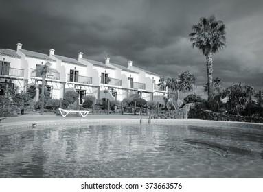 Generic vacation resort in Canary Islands