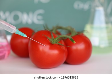 Genetic Modification of Tomato