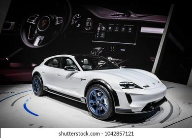 Geneva International Motor Show 2018, new concept mission e