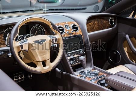 Geneva Mar 3 Bentley Exp 10 Stock Photo Edit Now 265925126