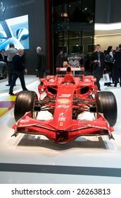 GENEVA, MAR 4: Ferrari F1 F2008, displayed at the 79th Geneva Motor Show, in Swtizerland March 4, 2009.