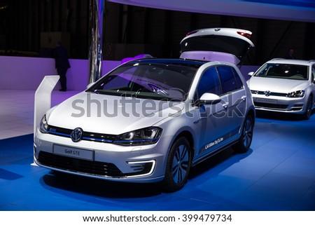 e3f374fe9a02 GENEVA MARCH 2 Volkswagen VW Golf Stock Photo (Edit Now) 399479734 ...