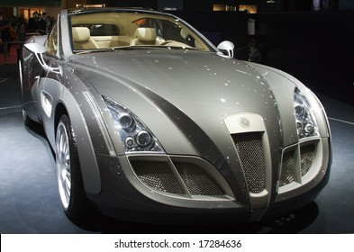 GENEVA - MARCH 9, 2007: New generation of Russo-Baltique Impression model is demonstrated in 77th International Motor Show, March 9, 2007 in Geneva, Switzerland