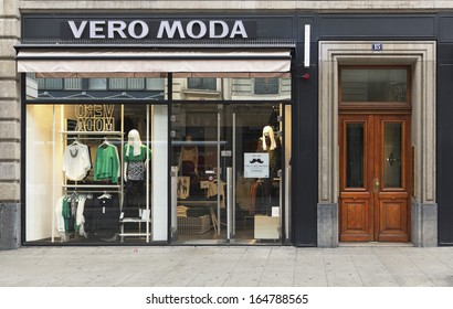 GENEVA, NOVEMBER 17: A Vero Moda outlet, November 17, 2013, Geneva, Switzerland. The brand is owned by BESTSELLER and sold through 3,000 chain stores and 12,000 multi-brand stores worldwide.