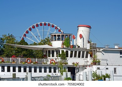 Geneva Steam Boat And Ferris Wheel