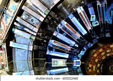 GENEVA, SWITZERLAND, 18 March 2017: CERN Interior