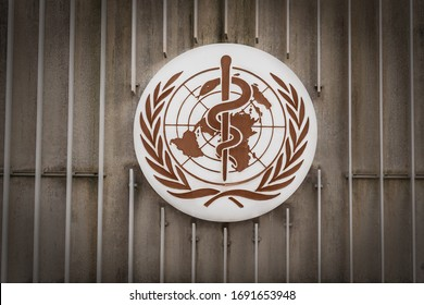 Geneva, Switzerland - December 03, 2019: World Health Organization (WHO / OMS)
