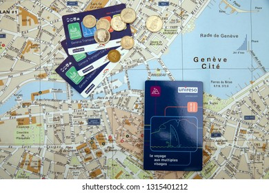 Geneva Map Images, Stock Photos & Vectors | Shutterstock