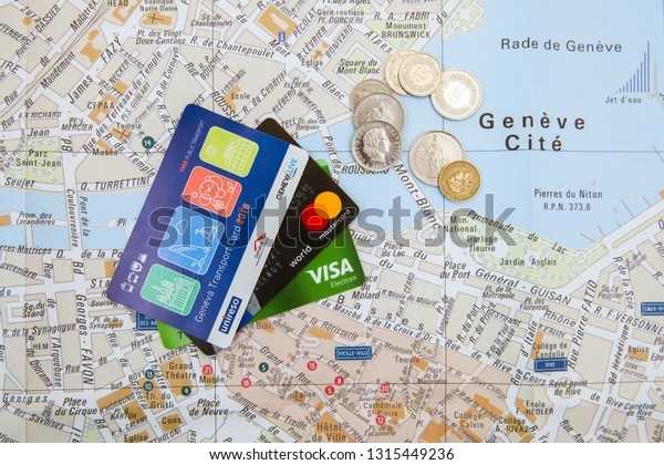 Geneva Switzerland Feb 17 2019 Public Stock Photo (Edit Now ...