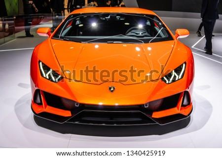 Geneva Switzerland March 05 2019 Metallic Stock Photo Edit Now