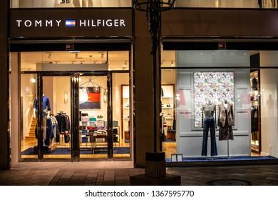 f4ac8698 Geneva, Switzerland, March 09, 2019, Tommy Hilfiger store, Tommy Hilfiger is