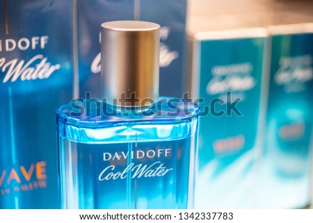 Geneva Switzerland March 10 2019 Davidoff Stock Photo Edit Now