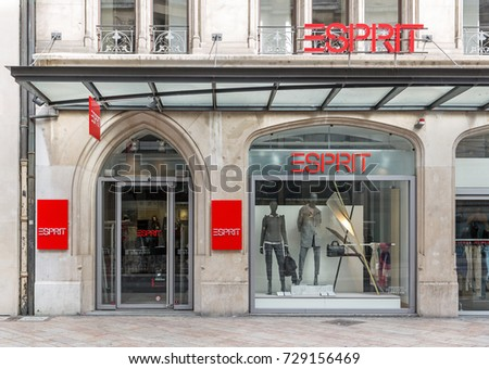 930bfe02cd11 GENEVA, SWITZERLAND – OCTOBER 1, 2017  An Esprit store. Founded in San