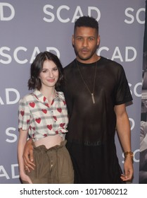 Genevieve Buechner (L) Jeffrey Bowyer (R) attends the 6th annual SCAD aTV Fest 2018 in Atlanta, Georgia - USA at the Four Seasons Hotel Atlanta on February 3rd 2018