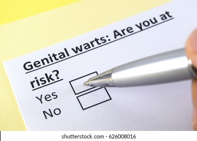 Genital warts: are you at risk? yes or no