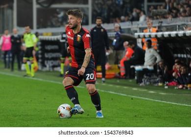 Genova, Italy, October 26 2019 lasse schone (genoa) during Genoa vs Brescia Italian Soccer Serie A Men Championship