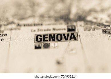 Genova on map.