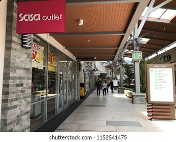 GENTING HIGHLAND, MALAYSIA- JULY 20, 2018: Sasa outlet in Genting Highland Premium Outlet, Pahang, Malaysia.