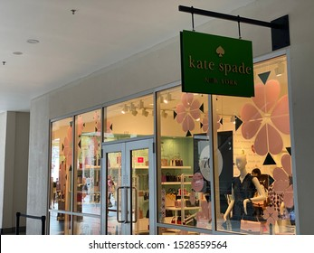Genting Highland, Malaysia - October 10, 2019: Kate Spade New York retail shop in Genting Highland Premium Outlet (GPO). Kate Spade New York is an American fashion design house founded in January 1993