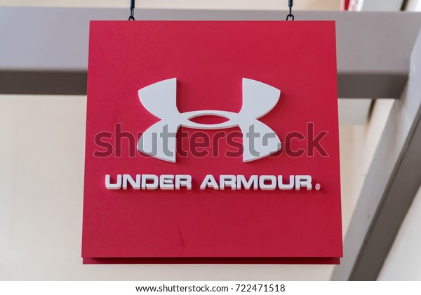 GENTING HIGHLAND, MALAYSIA - SEPTEMBER 16, 2017: Under Armour, Inc. is an American company that manufactures footwear, sports and casual apparel.