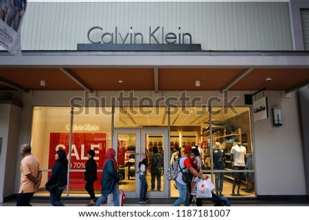 31f6d15f2ba5 GENTING HIGHLAND MALAYSIA SEPTEMBER 2018 Calvin Stock Photo (Edit ...
