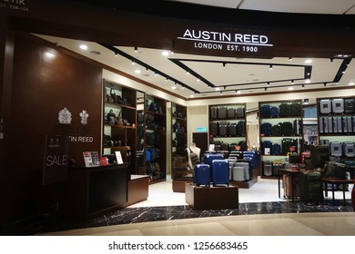 GENTING HIGHLANDS, MALAYSIA- DEC 03, 2018 : Austin Reed boutique at Genting Highlands, Malaysia. The upmarket fashion retailer was founded in 1900 and has 70 retail outlets