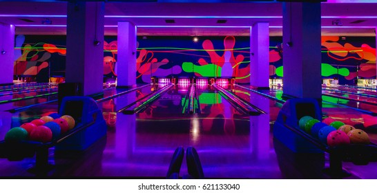 Genting Highlands, Malaysia - MAR 22: Resort world genting bowling for gambler and visitor Resort World Genting on March 22, 2017 in Genting Highlands, Pahang, Malaysia.