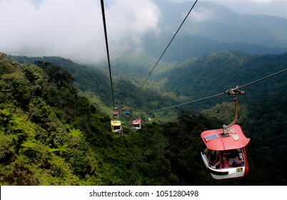 Genting. Malaysia. March 3 2013. Cable Car Genting Malaysia