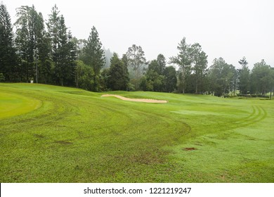 GENTING, MALAYSIA, MAY 2, 2016: green course at Genting highland