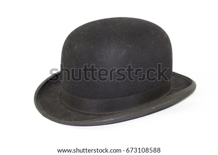 Gentlemans Bowler Hat on
