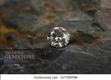 A genuine diamond is a diamond that has been cut and clean. Rare and expensive