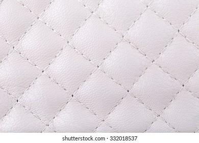 Genuine leather. Cream.