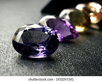genuine mined natural precious gemstones for design fashion jewellery.