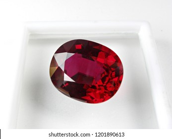genuine mined natural red ruby oval cut loose gemstone for design gemstone jewellery