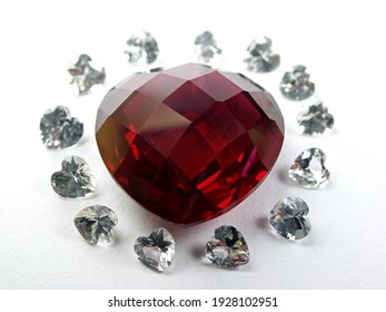 genuine mined natural red ruby gemstone for fashion jewellery.