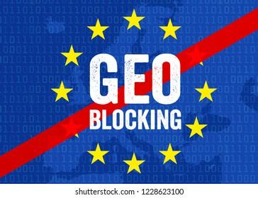 Geo Blocking with smartphone