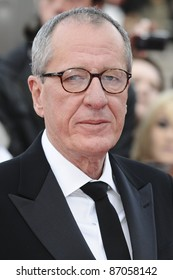 Geoffrey Rush arriving for the National Movie Awards 2011, at Wembley Arena, London. 11/05/2011  Picture By: Steve Vas / Featureflash