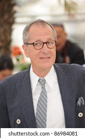 """Geoffrey Rush at the photocall for his movie """"Pirates of the Caribbean: On Stranger Tides"""" at the 64th Festival de Cannes. May 14, 2011  Cannes, France Picture: Paul Smith / Featureflash"""