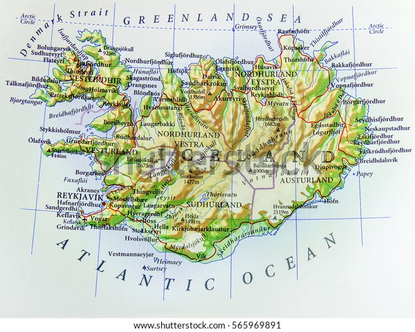 Geographic Map European Country Iceland Important Stock Photo (Edit on vik iceland map, landmannalaugar iceland map, reykjavik iceland map, skaftafell iceland map, keflavik iceland map, gauksmyri iceland map, hvolsvollur iceland map, holmavik iceland map, egilsstadir iceland map, hekla iceland map, skagafjordur iceland map, gullfoss iceland map, akranes iceland map, grimsey island iceland map, laugarvatn iceland map, hellnar iceland map, geysir iceland map, seydisfjordur iceland map, hofsos iceland map, hafnarfjordur iceland map,