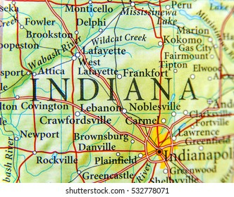 Danville Indiana Map Indiana Map Images, Stock Photos & Vectors | Shutterstock