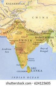 Map Of India Geographic.India Geographical Map Stock Photos Images Photography Shutterstock