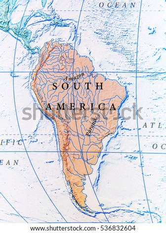 Geographic Map South America Close Stock Photo (Edit Now ... on geographic map of modern europe, geographic map of netherlands, geographic map of guadalajara, geographic map of denmark, geographic map of lebanon, geographic map of czech republic, geographic map of san salvador, geographic map of pacific ocean, geographic map of new york state, geographic map of belize, geographic map of serbia, geographic map of arab countries, geographic map of hong kong, geographic map of the caribbean, geographic map of scandinavia, geographic map of far east, geographic map of ghana, geographic map of bahrain, geographic map of japan, geographic map of gobi desert,