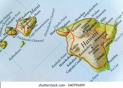 Map Of Us And Hawaii Stock Photos Images Photography Shutterstock
