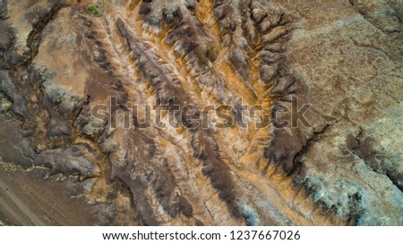 Geographical Feature Rift Valley Tanzania Stock Photo (Edit
