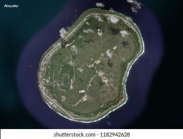 geography of Nauru