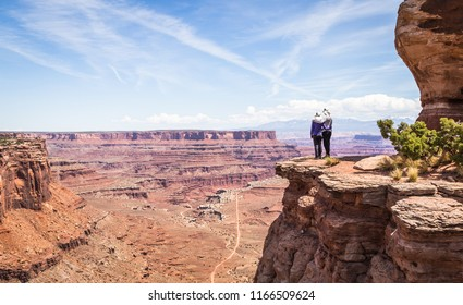 Geological features of Canyonlands National Park