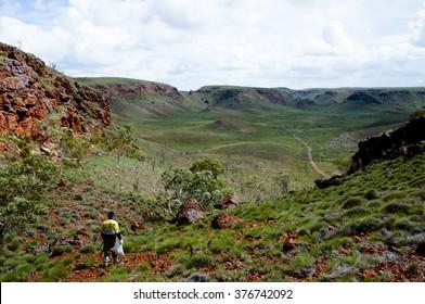 Geologist Prospecting for Iron Ore - Pilbara - Australia