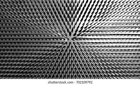 Geometric abstract illustration. 3d illustration