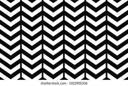 Geometric background of a zigzag strip