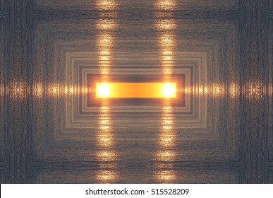 geometric composition of six sunset in Ibiza, Balearic Islands, Spain, mandala, abstract surreal photography, abstract naturalism collection Munimara